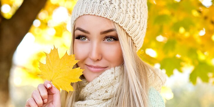 60minutová kosmetická péče včetně masáže s koenzymem Q10