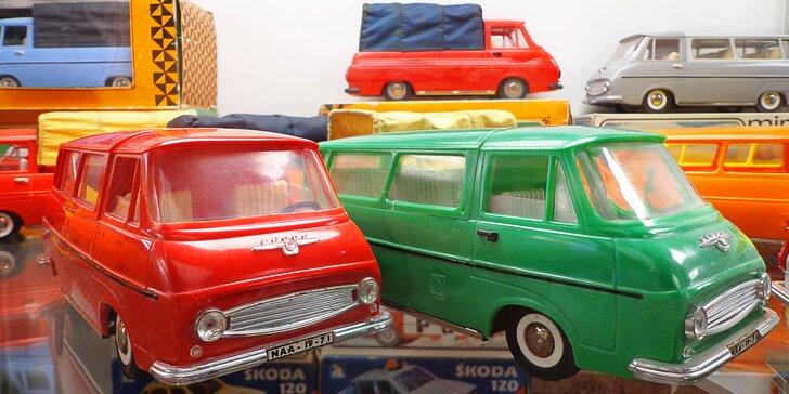 Vstup do Muzea autíček pro jednotlivce i rodinu: tisíce historických modelů