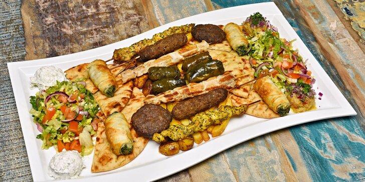 To nejlepší z řecké kuchyně: předkrmy, 4 druhy masa i přílohy pro 2 osoby
