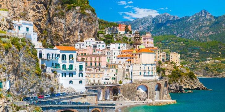 Objevte Jižní Itálii: návštivte Řím, Neapol, Vesuv a Amalfské pobřeží