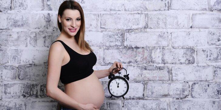 Odhalte bříško: Focení pro nastávající maminky s výběrem stylu