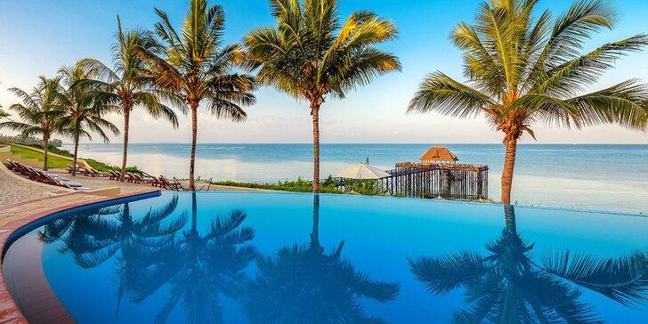 Překrásný 5* resort na Zanzibaru: 6–12 nocí, polopenze, 2 bazény a lázně