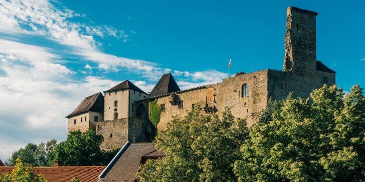 Vítejte v Haškově kraji: pohodový víkend se saunou pod hradem Lipnice