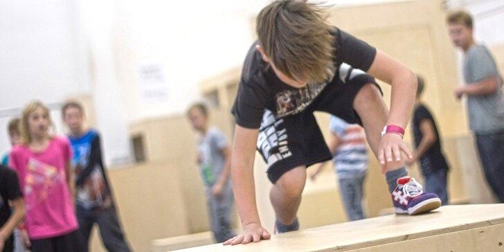 Seznámení s parkourem: tříhodinový workshop pro děti od 10 do 14 let