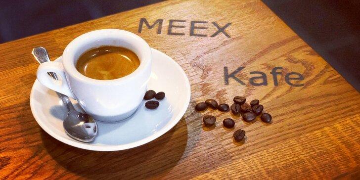 2x káva dle výběru v centru Olomouce: espresso, lungo nebo turecká