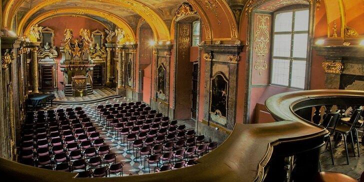Říjnové koncerty Smetana, Dvořák a Vivaldi v Zrcadlové kapli Klementina
