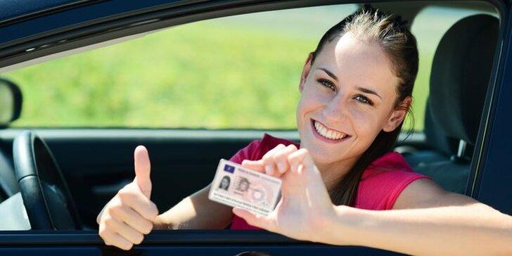 Rezervace kurzu autoškoly pro získání průkazu sk. B, C nebo C+E