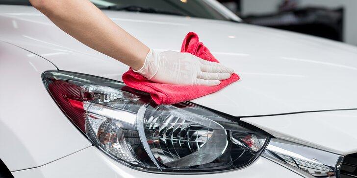 Ruční mytí vozu: 8 variant i možnost přepravy auta od vás a zpět