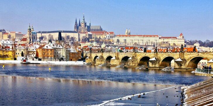 Pobyt na 2 nebo 3 dny v plně vybavených apartmánech přímo v centru Prahy