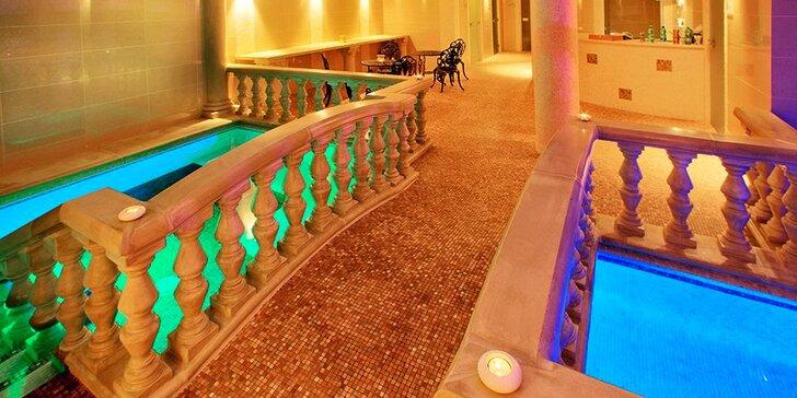 Zámecká relaxace v Chateau Kynšperk: polopenze, wellness i solná jeskyně