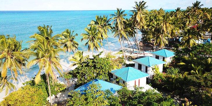 3* hotel na Zanzibaru v africkém stylu: 6–12 nocí, polopenze, bazén