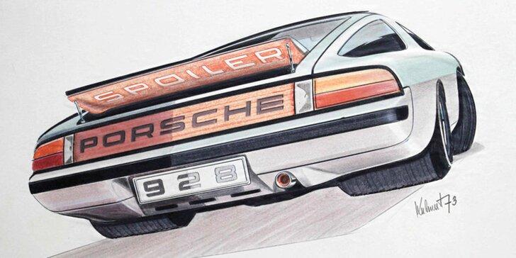 Výstava Sketch the Dream: skici spoludesignéra Porsche Jiřího Kuhnerta