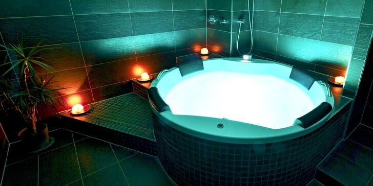 90 minut privátní relaxace a romantiky v bublinkách Amorovy vířivky pro dva