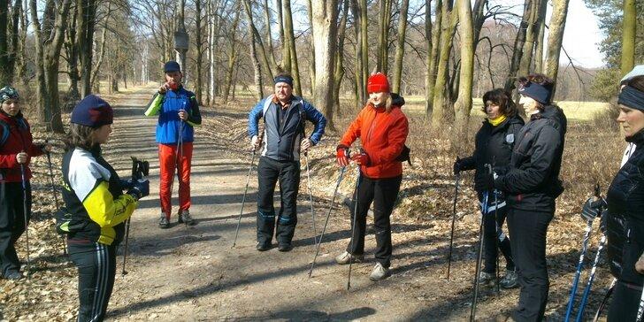 Není chůze jako chůze: Základní 4 hodinový kurz Nordic Walking