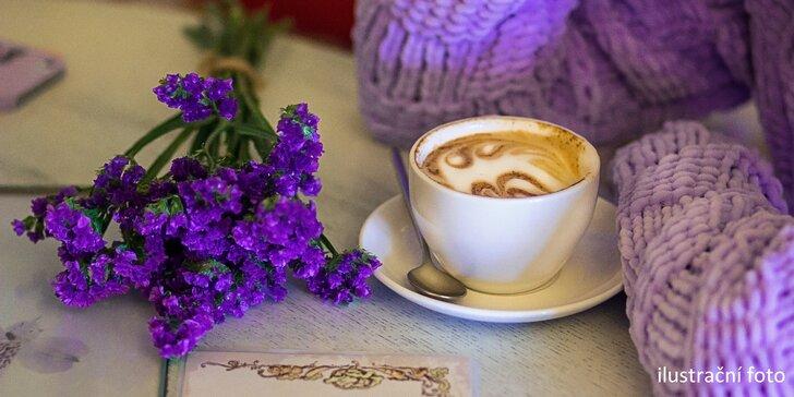 Jako na jihu Francie: káva dle výběru v kavárně ve stylu Provence