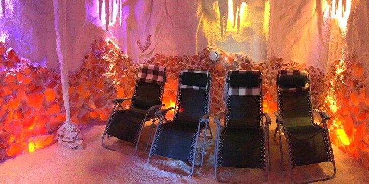 Relax v solné jeskyni: jednorázový vstup nebo permanentka