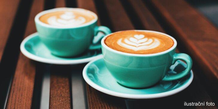 Káva z poděbradské pražírny: espresso, lungo, cappuccino nebo filtrovaná