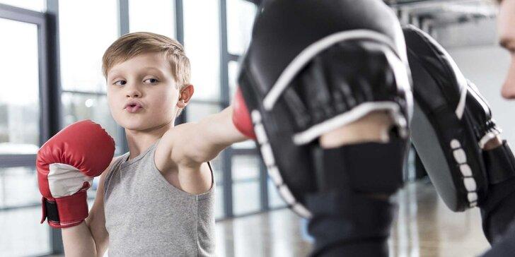 Čtvrtletní trénink - sebeobrana pro děti Taurusáček