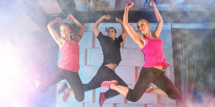 Pravidelné cvičení Latino Dance se světelnou show - 10 vstupů