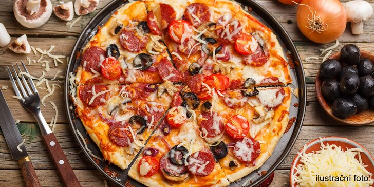 Zažeňte hlad po nákupech: Výtečná pizza a nápoj dle gusta na Arkádách