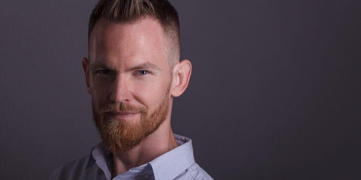 Ateliérové focení business headshotů a portrétu pro jednoho
