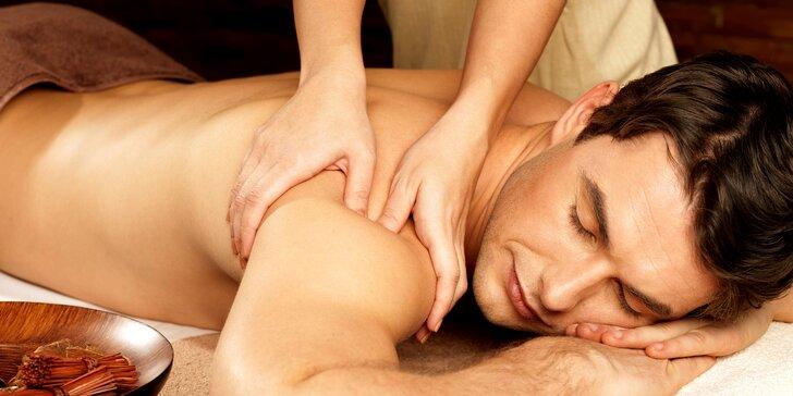 Certifikovaná masáž od profesionála v oboru: 60 i 90 minut