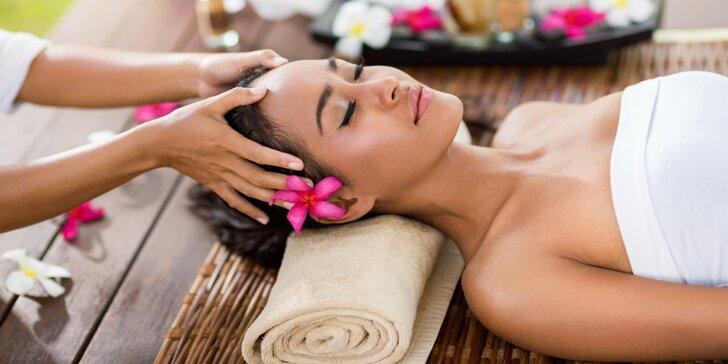 Masáž proti migréně a bolestem hlavy ve vyhlášeném salonu Sen Sabai