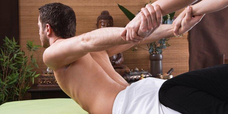 Hloubková masáž pro úlevu svalů v délce 30 nebo 60 minut