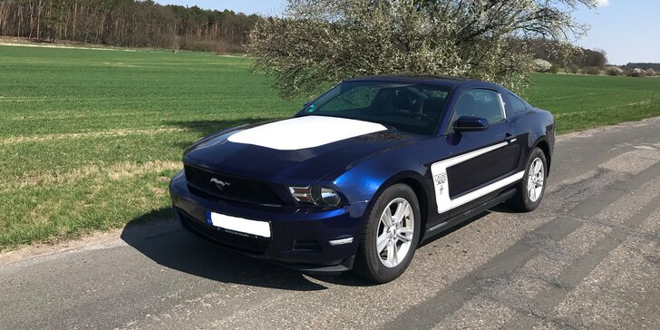 Adrenalin pod stromeček : půjčte si Ford Mustang na den i na víkend