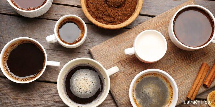 Protože jedna nikdy nestačí: 10x káva dle výběru v LamCafé