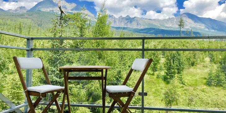 Pobyt v apartmánu ve Vysokých Tatrách s neomezeným privátním wellness