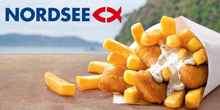 Dobrota do ruky: 2× fish & chips z restaurace NORDSEE v Praze i Brně