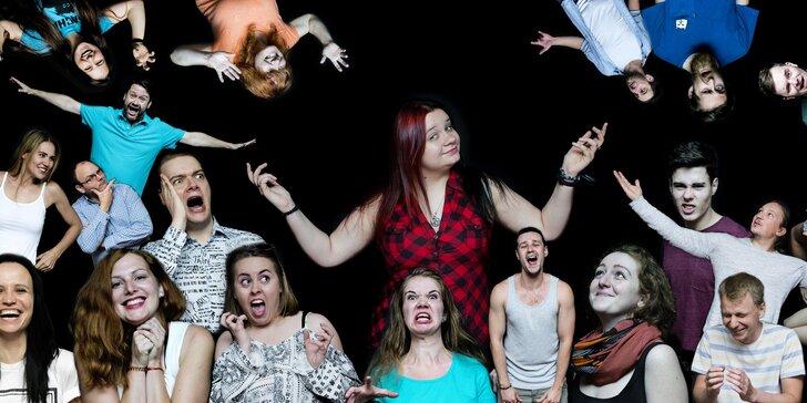 Jaké je to být hercem: Vstup na divadelní zkoušku Stay Si
