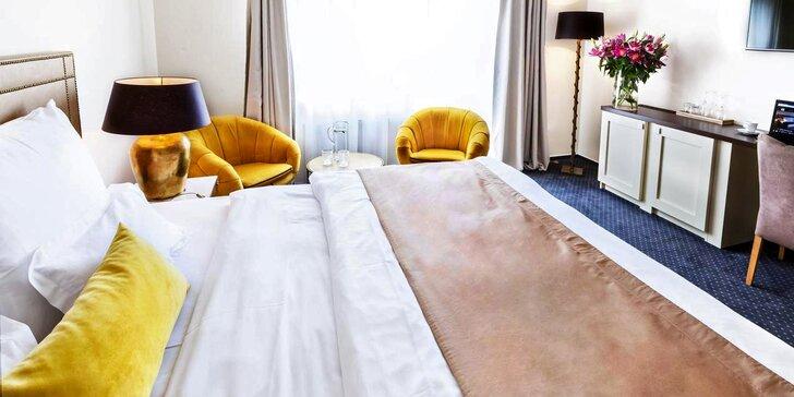 Pobyt ve 4* hotelu na lázeňské kolonádě v Poděbradech se snídaní a wellness