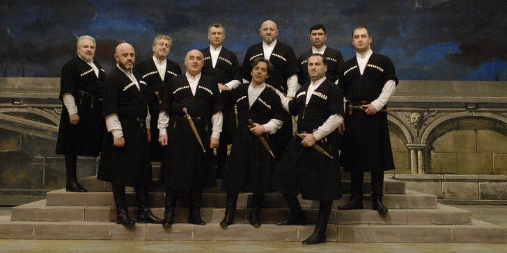Naprosto unikátní vystoupení gruzínského souboru sólistů Tbiliské opery