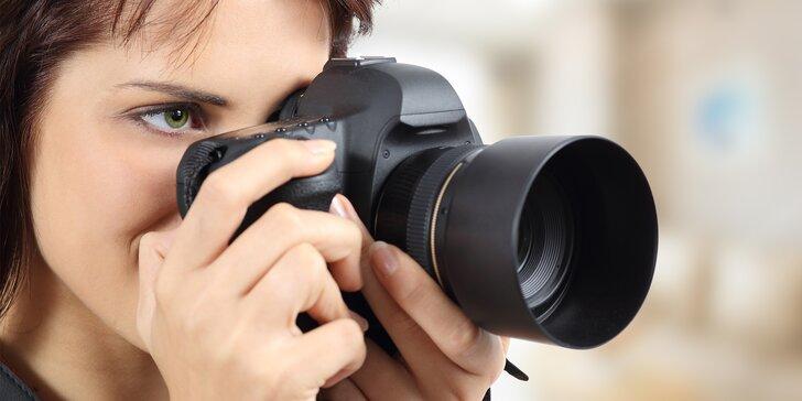 Naučte se fotit: kurz základů i portrét a glamour pro začátečníky i pokročilé