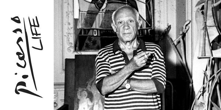 Picasso naživo: vstup pro 1 i 2 dospělé na unikátní výstavu Picasso Life