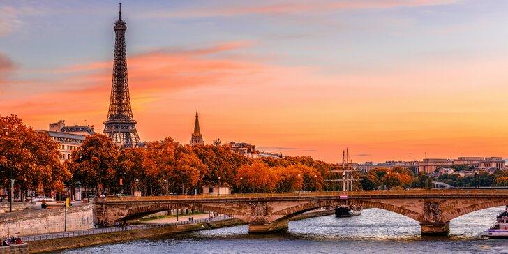 Paříž a sídla panovníků Fontainebleau a Vaux-le-Vicomte na 3 noci se snídaní