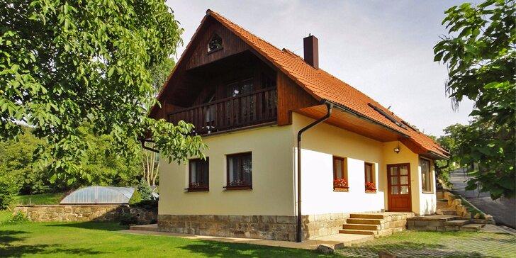 Idylka v Českém ráji: Pronájem vybavené chalupy 2 km od Prachovských skal