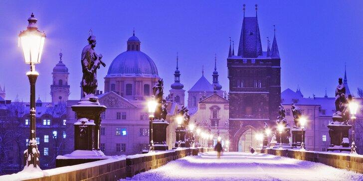 2 nebo 3 dny v krásném hotelu v centru Prahy: advent i zimní pohoda