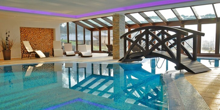 Jaro v Beskydech: hotel v zeleni, vyžití pro děti, polopenze a wellness