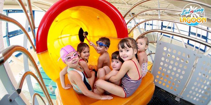 Permanentka do aquaparku v Letňanech: 2,5hod. vstupy pro děti i dospělé
