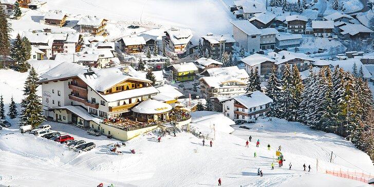 Hurá do Zillertal: hotel přímo u sjezdovky, polopenze, neomezený wellness