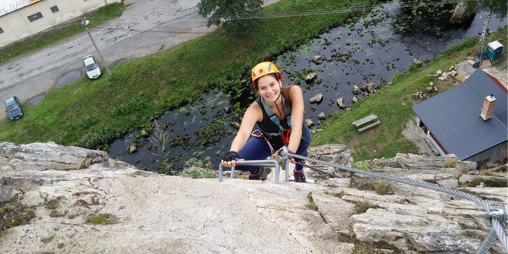 Kurz lezení v Táboře: připravte se na zahraniční Via ferrata výpravy