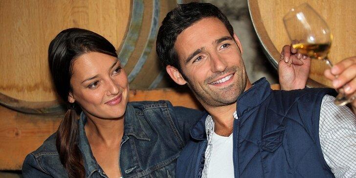 Degustace hrou: 60–120 min. Wine Casina se službami sommeliera pro 3–6 os.