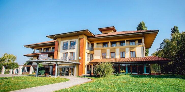 Pohodový pobyt na jihu Slovenska s polopenzí a vstupem do Thermalparku
