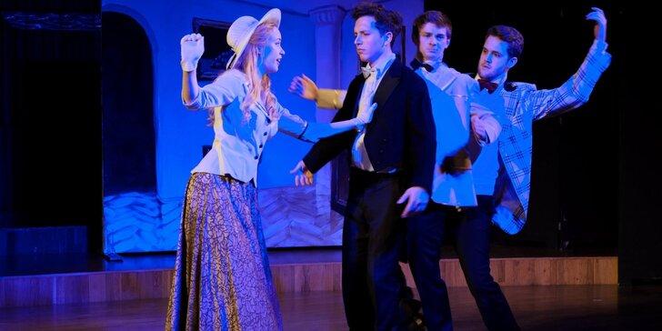 Vstupenka na operetu Vinobraní v divadle Na Rejdišti