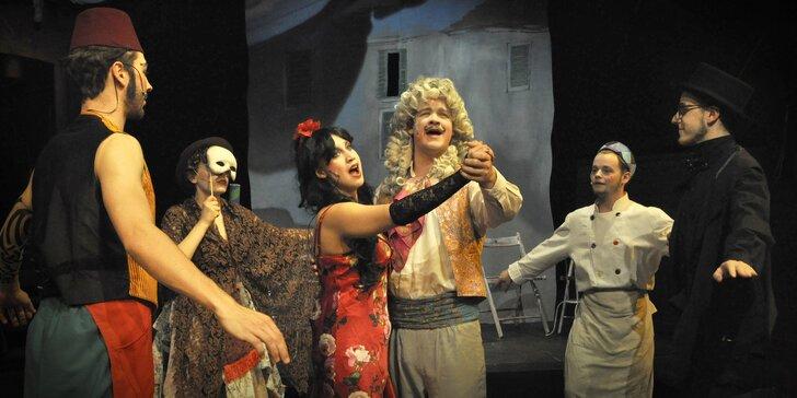 Vstupenka na představení Zpívající Benátky v divadle Na Rejdišti