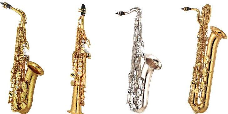 Vstupenka na koncert od baroka po Gershwina pro 4 saxofony