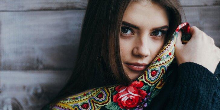 Dopolední kosmetické ošetření pleti s masáží obličeje značkou Alcina